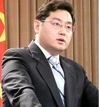 China Foreign Ministry Spokesperson Qin Gang / Wikipedia Photo