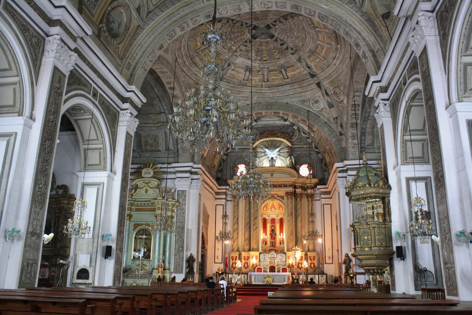 San Agustin Church in Intramuros, Manila. Photo by Ching Dee.