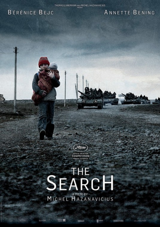 Movie poster of The Search. From impawards.com.