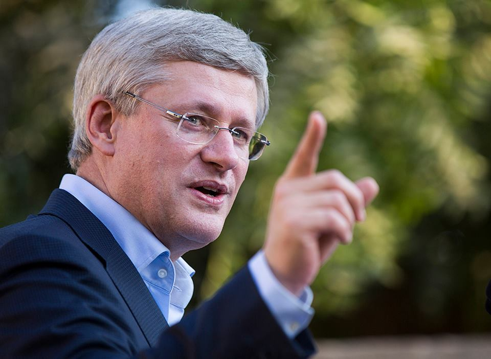 Canadian Prime Minister Stephen Harper (Facebook photo)