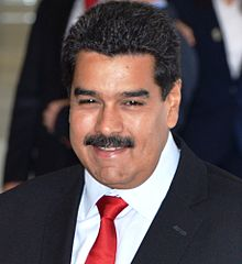 Venezuela President, Nicolas Maduro (Wikipedia photo)