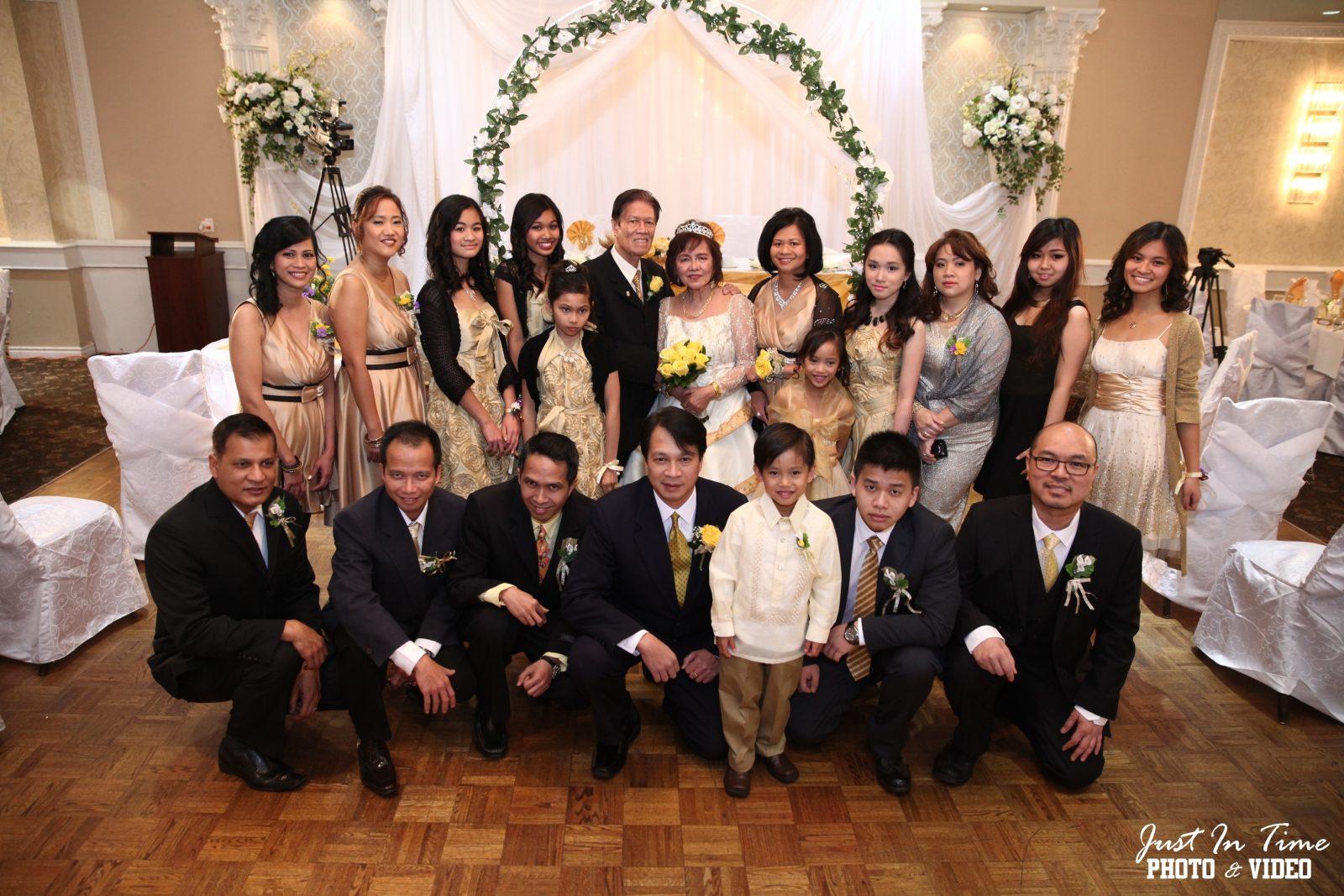 Frank and Olga Tan's family. Photo courtesy of Frank Tan.