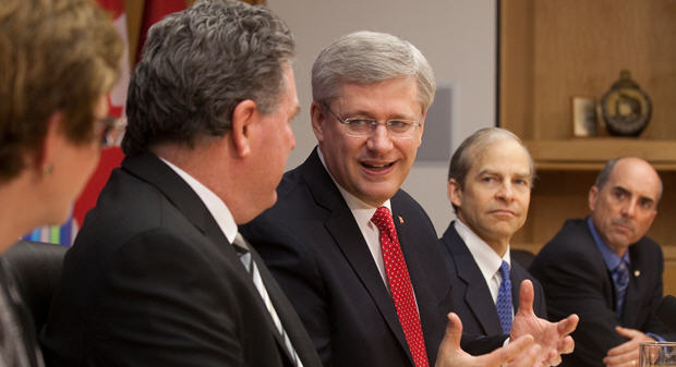 Prime Minister Stephen Harper recently launched consultations with businesses on the Canada Job Grant.