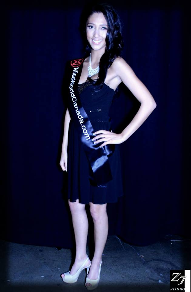 Miss World Canada candidate Tayler Jotie. Photo courtesy of Zed Studio 7.