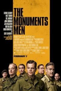 The Monuments Men movie poster (Wikipeida photo)