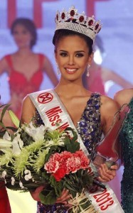 Photo from Facebook page of Megan Young.