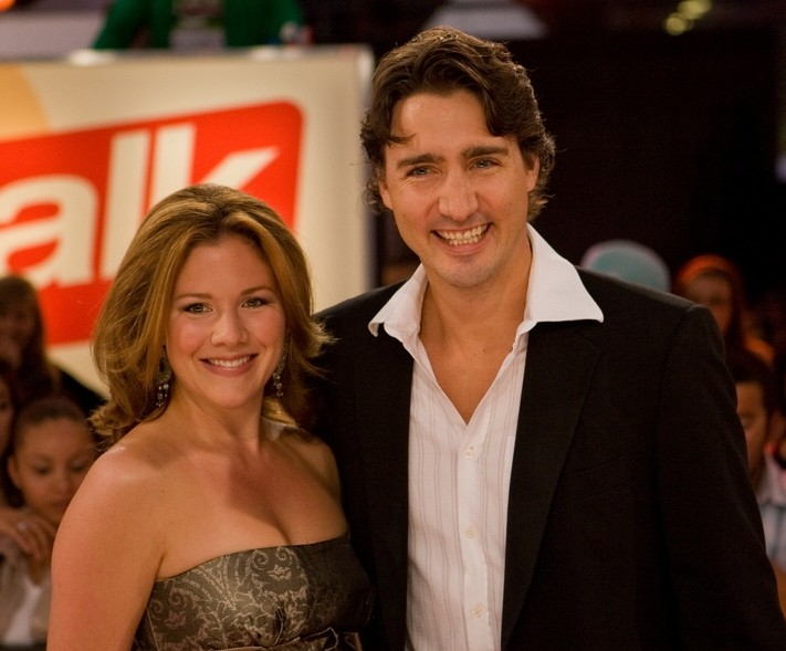 Justin Trudeau and wife Sophie Gregoire. Photo by Richard Burdett / Wikimedia Commons.