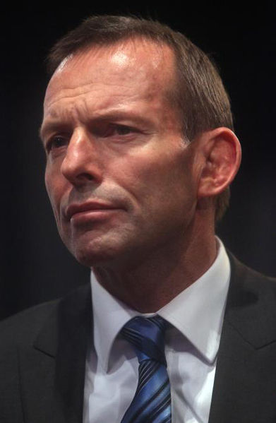 Tony Abbott  (Wikipedia photo)