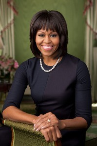 Michelle Obama (Wikipedia photo)