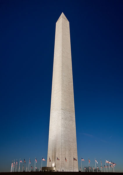 Washington Monument (Wikipedia photo)