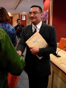 Hishammuddin Hussein in 2006. (Wikipedia photo)