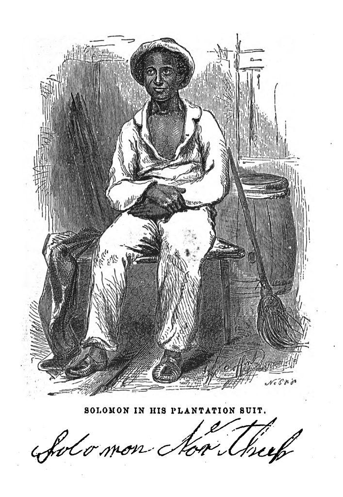 Sketch of Solomon Northrup courtesy of Wikipedia.