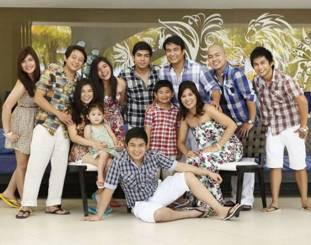 Revilla Family in 2011. Photo courtesy of AllVoices.
