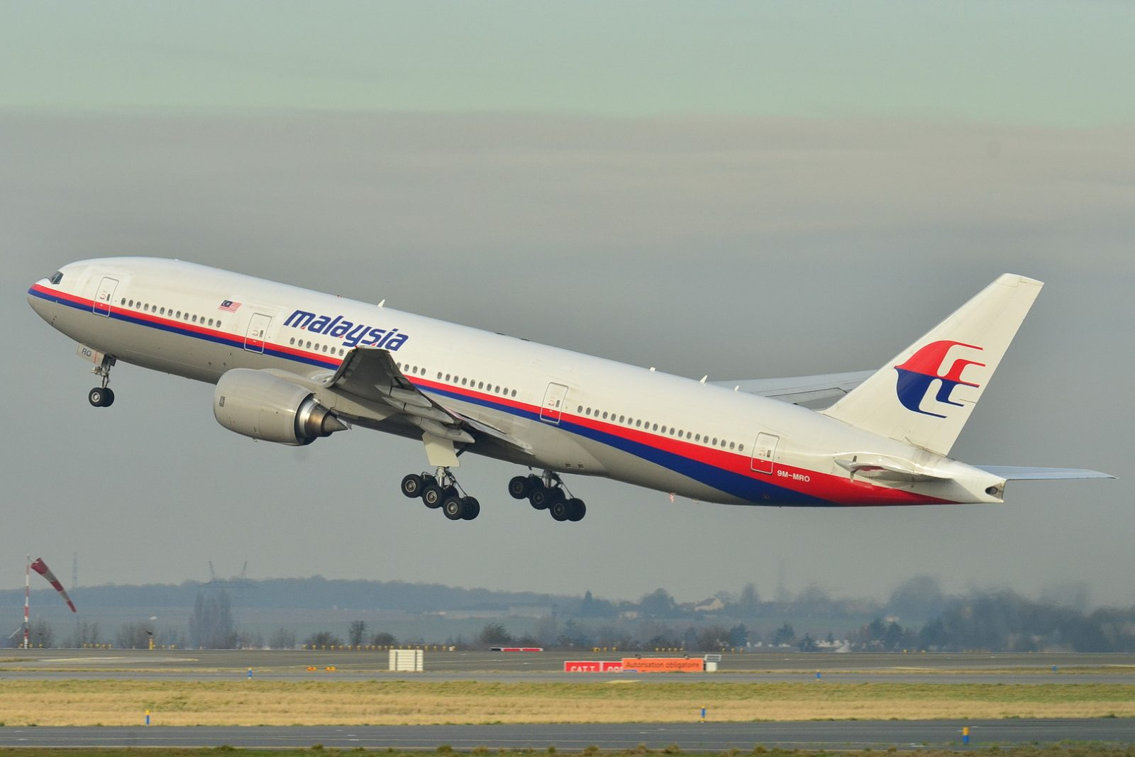 BOEING 777-200, the make and model of Malaysia Airlines MH370. STOCK PHOTO BY RUSSAVIA ON WIKIPEDIA.