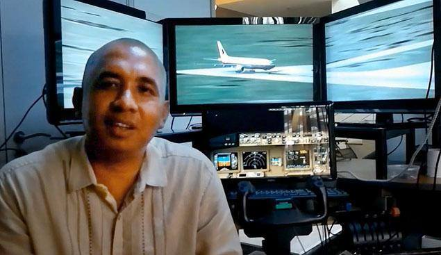 Capt. Zaharie Ahmad Shah, one of the two pilots of Malaysia Airline MH370