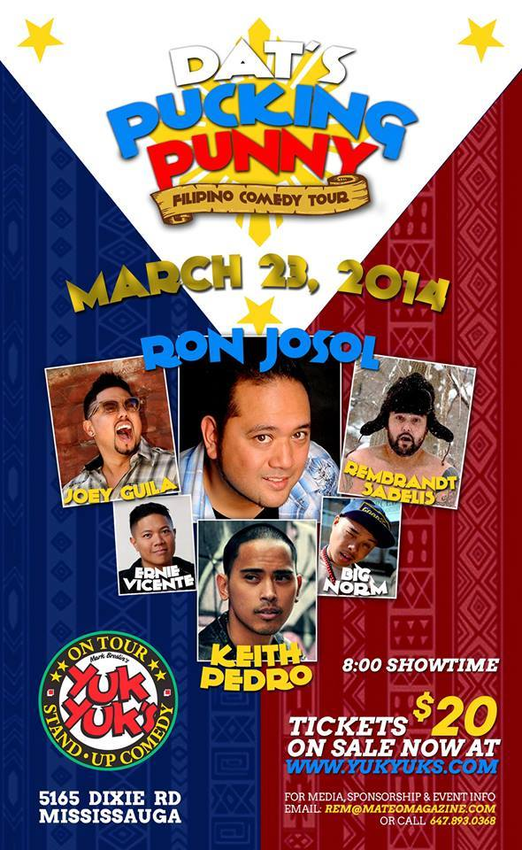 Dat's Pucking Punny Filipino Comedy Tour
