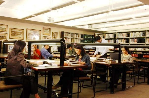 Filipinas Heritage Library interiors. Photo courtesy of FHL's Facebook page.