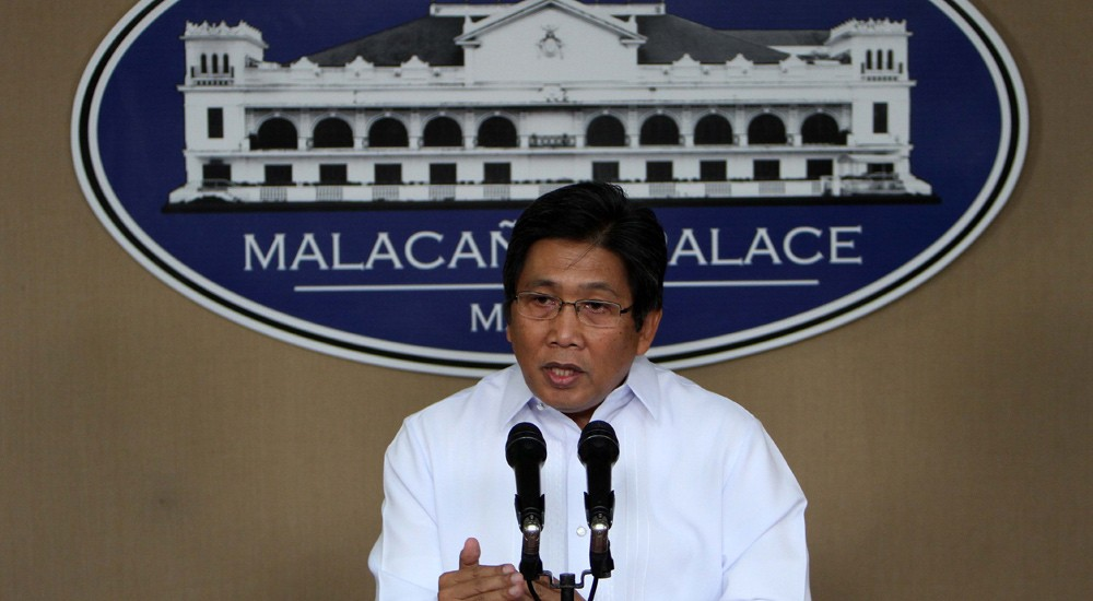 Communications Secretary Herminio Coloma