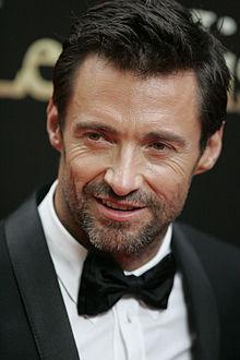 Hugh Jackman (Wikipedia photo)