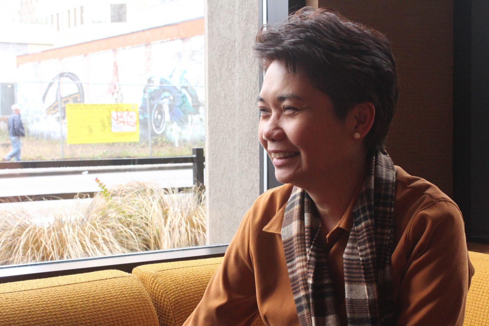 Eileen Mangubat, the 2013 Marshall McLuhan Fellow - Philippines.