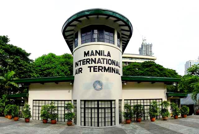 Manila International Air Terminal a.k.a. Nielson Tower along Makati Avenue. Photo courtesy of Christopher Rath on Wikipedia.