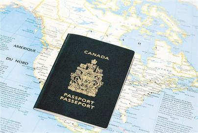 Canadian Passport. Photo courtesy of Canadian Dimension.