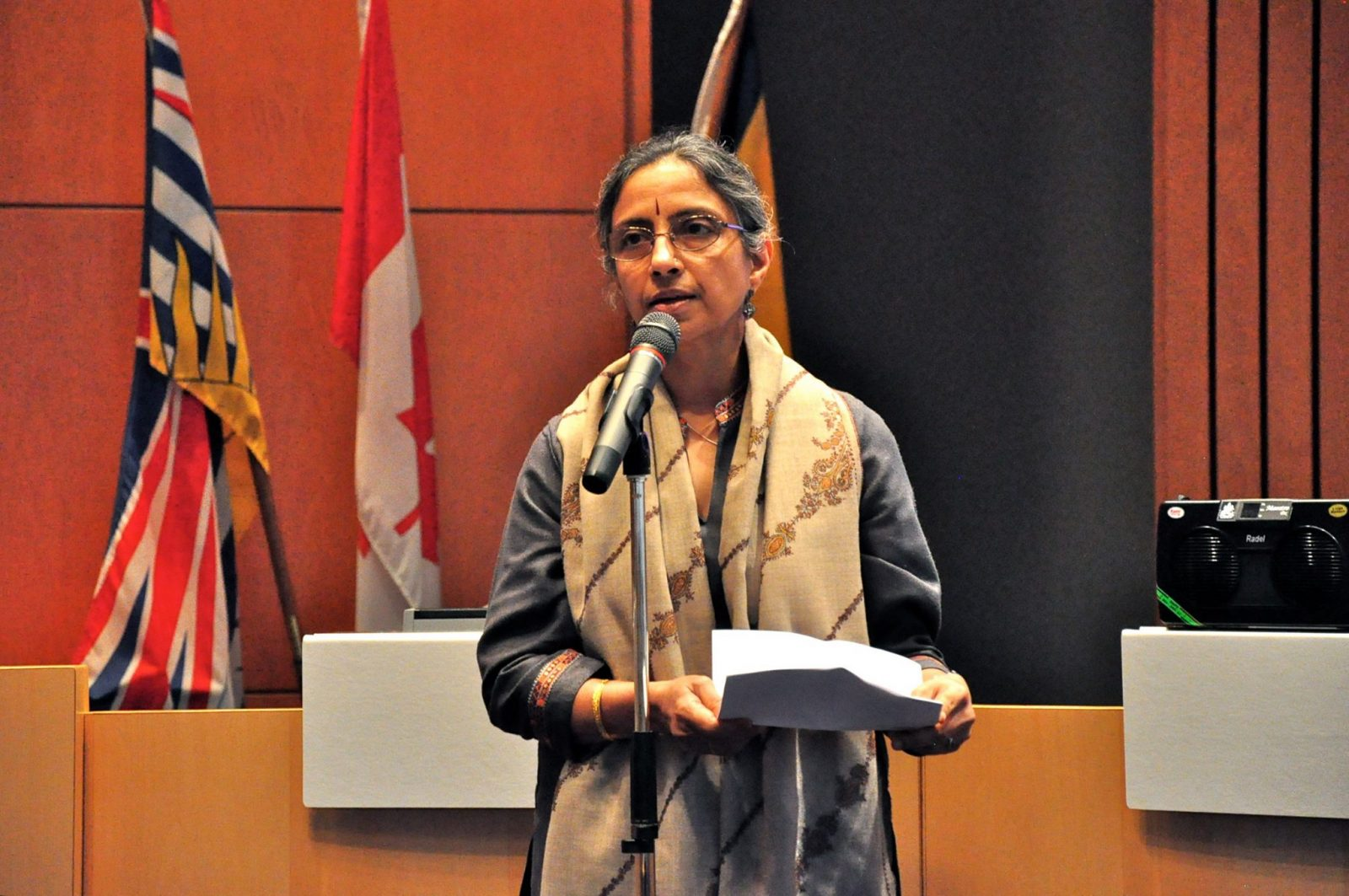 Priti Aisola Readng her Poem