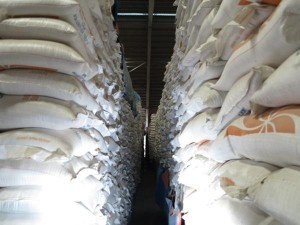 File photo of smuggled rice