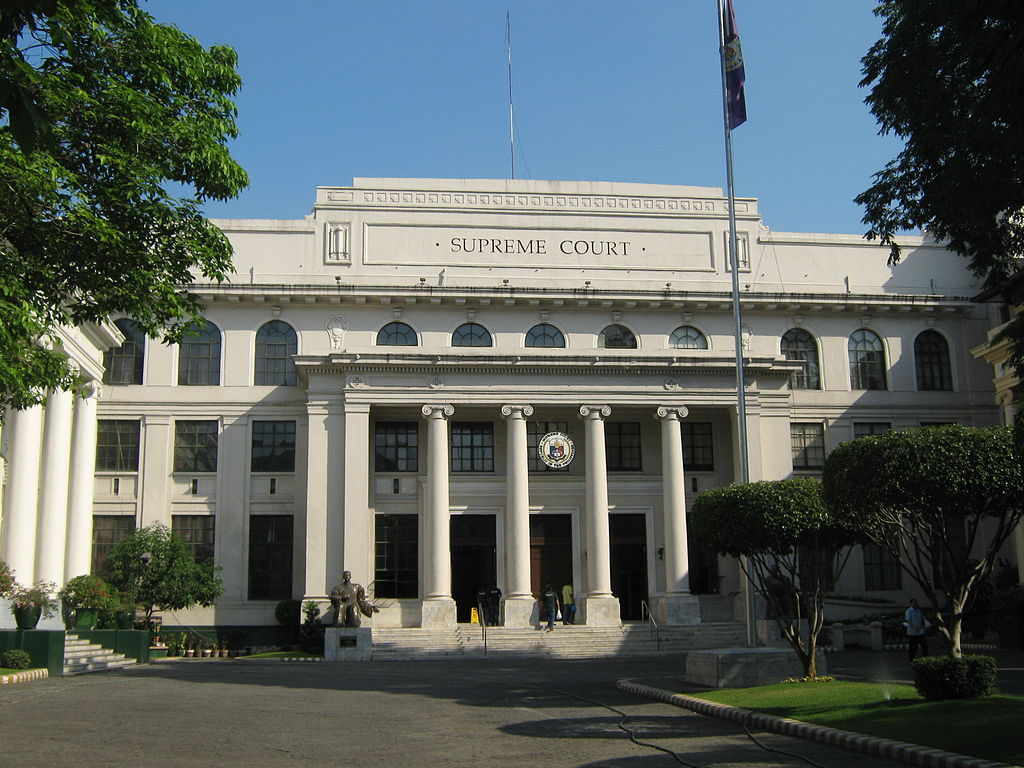 Supreme Court of the Philippines. Photo by Mike Gonzales courtesy of Wiki Commons.