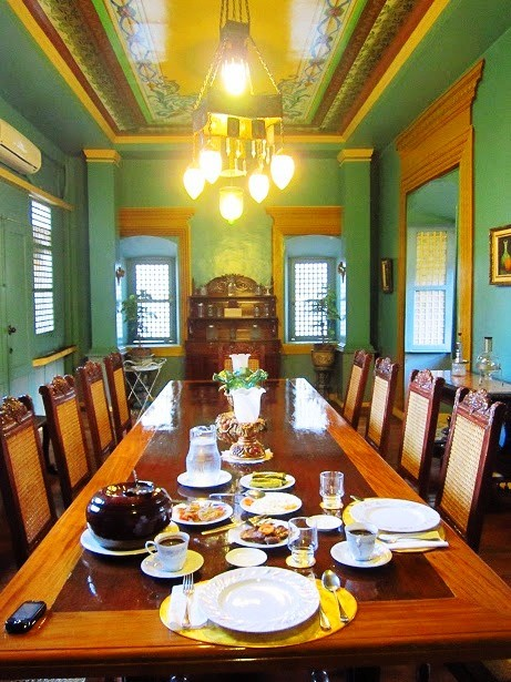 Villavicencio 1870 Wedding Gift House's dining room. Photo by author.