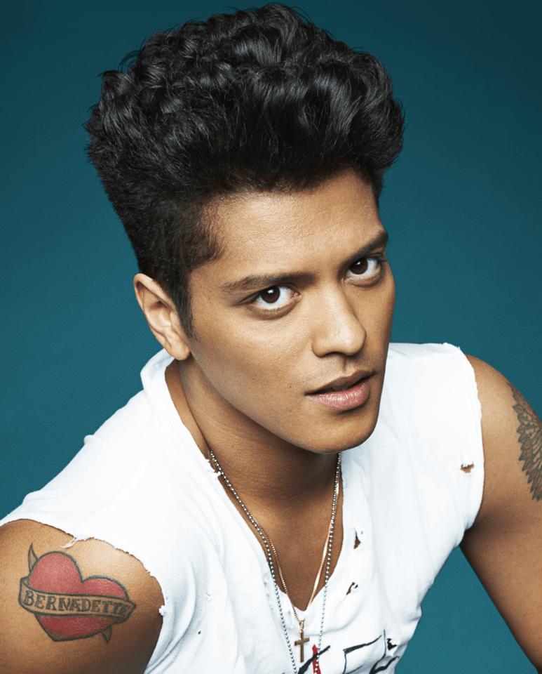 Photo: Facebook Page of Bruno Mars