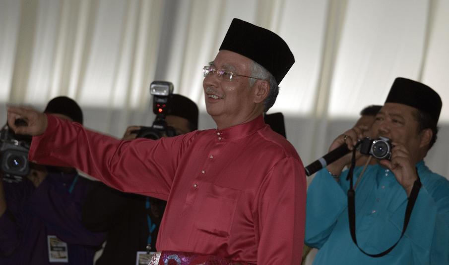 Malaysian Prime Minister Mohd Najib Abdul Razak. Stock photo by Attila Jandi.
