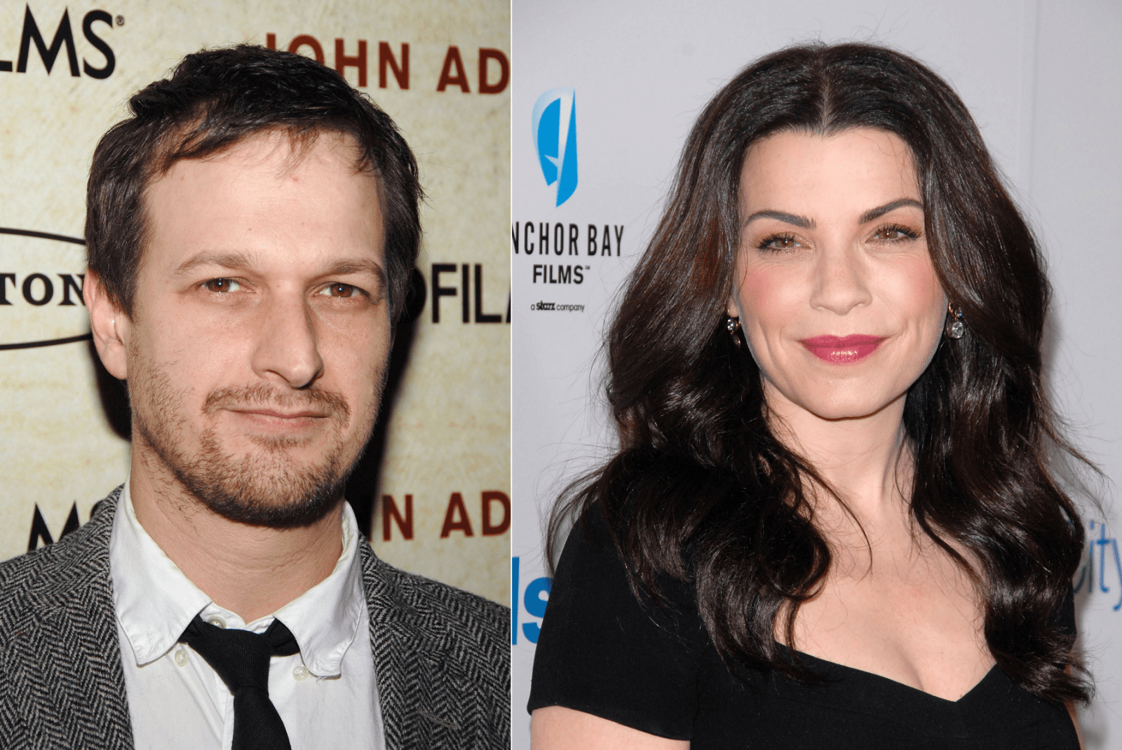 STOCK PHOTO OF JOSH CHARLES BY EVERETT COLLECTION; JULIANNA MARGULIES BY S_BUCKLEY.