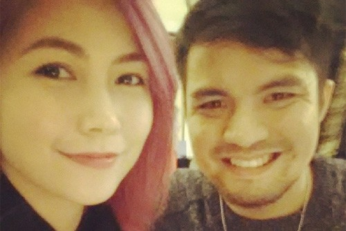 Yeng Constantino and Victor Asuncion