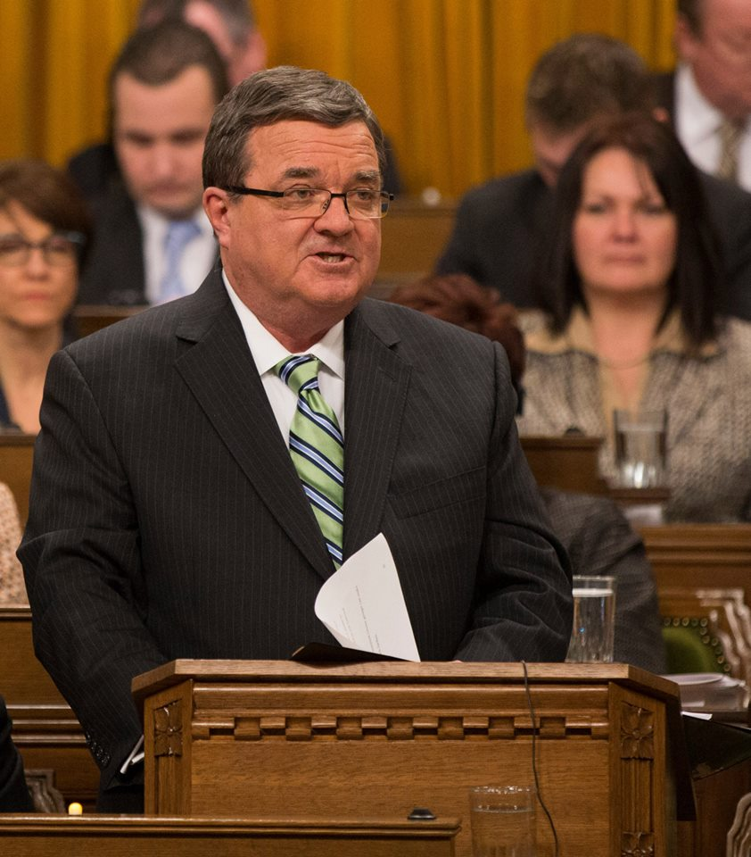 Photo courtesy of Jim Flaherty's Facebook Page