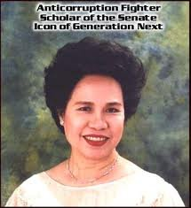 Photo: Facebook Page of Sen. Mirriam Defensor Santiago