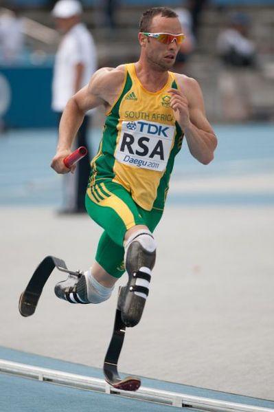 Oscar Pistorius in 2011. (Wikipedia photo)