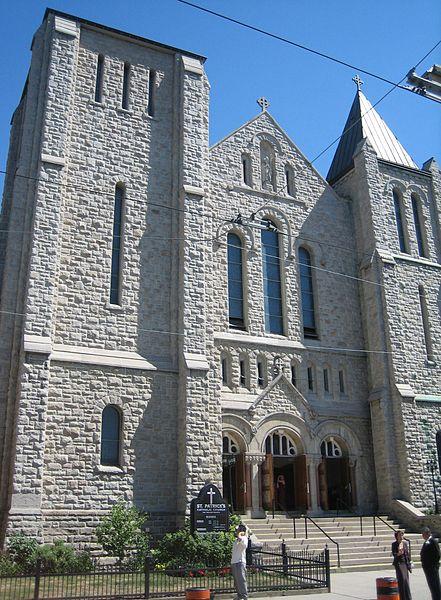 St. Patrick's Church (Toronto) by SimonP/ CC BY-SA 3.0