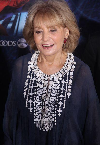 Barbara Walters in 2011. (Wikipedia photo)