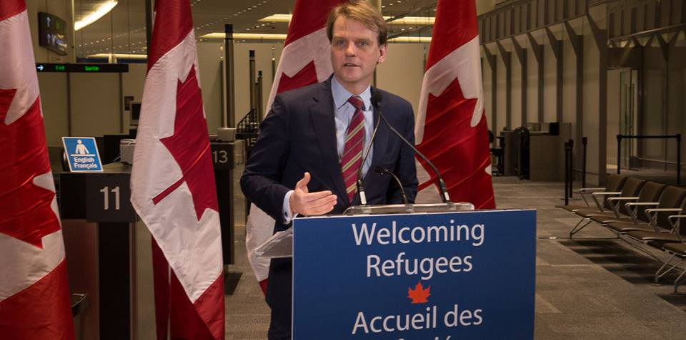 Citizenship and Immigration Minister Chris Alexander. Photo from Chris Alexander's official Facebook page.