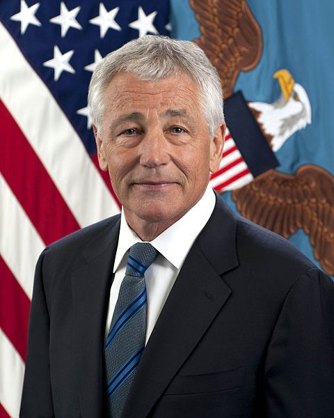 US Defence Secretary Chuck Hagel (Wikipedia photo