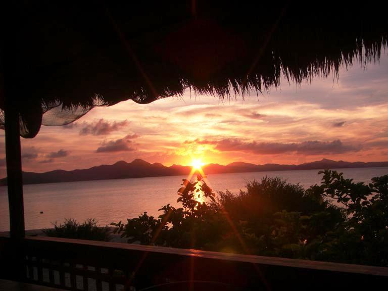 Sunset at Banana Island. Ching Dee / PCI