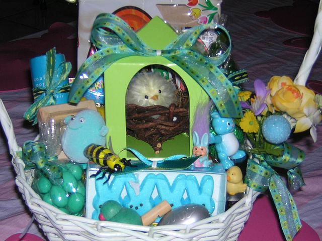 Ahhh, the joys of Easter!  An Easter basket filled with candy, goodies, and all things Spring!