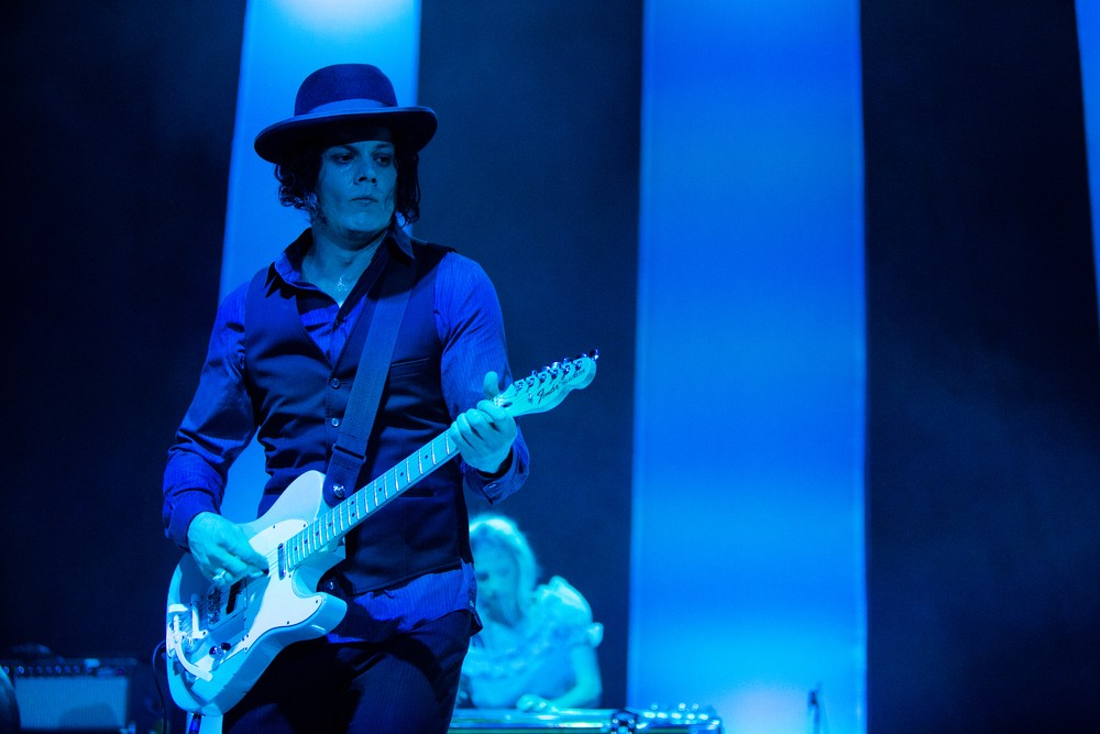Rock Star Jack White Performs on stage at WaMu Theater in Seattle, WA. Mat Hayward  /Shutterstock