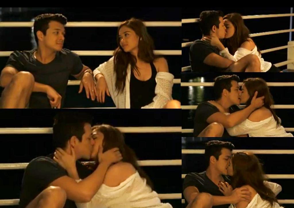 Jericho and Maja kissing scenes