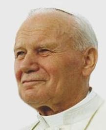 Pope John Paul II (Wikipedia photo)