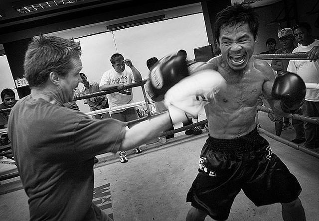 Manny Pacquiao. Roger Alcantara / Wikimedia Commons