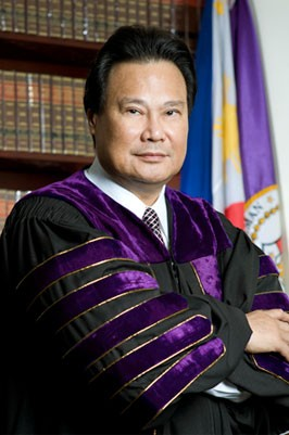 Dismissed Chief Justice Renato Corona. Wikipedia photo