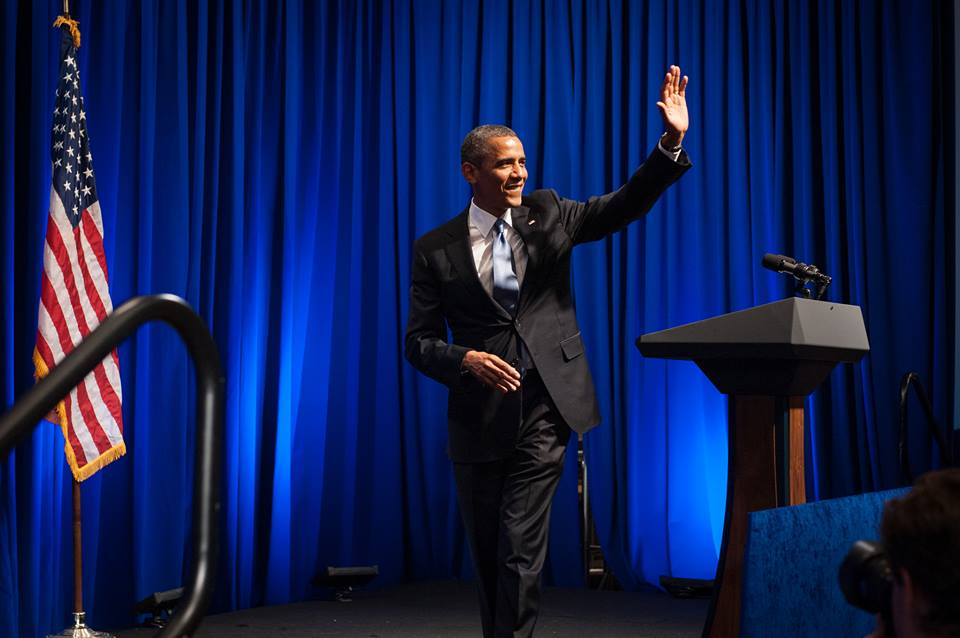 U.S. President Barack Obama. Photo courtesy of Barack Obama's official Facebook page.