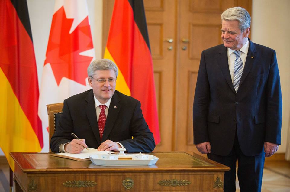 Photo: Facebook Page of Canada PM Stephen Harper
